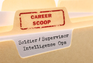 Career Scoop file, on what it's like to work as a Soldier / Supervisor, Intelligence Operations