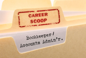 Career Scoop file, on what it's like to work as a Bookkeeper