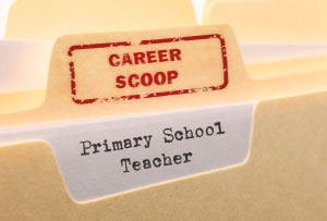 Career Scoop file, on what it's like to work as a Primary School Teacher