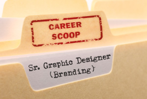 Career Scoop file, on what it's like to work as a Senior Graphic Designer