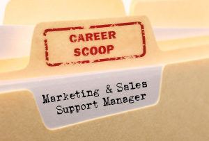 Career Scoop: Marketing & Sales Support Manager